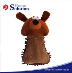 Eco-friendly soft plush dog chew toy free samples 2015 pet toys