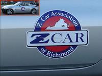 custom round car magnets