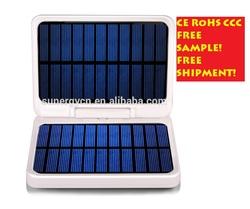 7000mAh Ultrathin Bank External Battery Pack Backup Charger Portable USB Solar Power bank charger