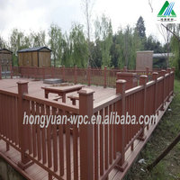China Useful Garden Wood Plastic Composite WPC Post, Fence Rail For Sale