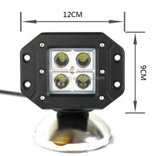 China factory New high quality 18w16W IP67 high intensity cube led work lights for truck all cars