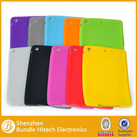 Soft Silicone Rubber Case For Ipad mini with many colors