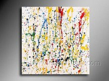 Handmade Abstract Artwork on Canvas Wall Pictures for Living Room