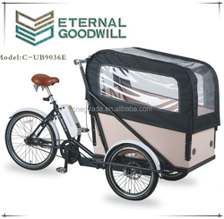 Electric Cargo Bike Three wheel Cargo Bike Cargo tricycle UB9036E
