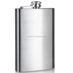 High Quality 10oz Stainless Steel Hip Flask Portable Wine Pot Flagon for Business Gift