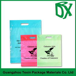 custom printed plastic shopping bags with priviate logo