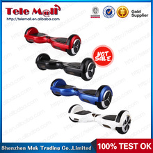 two-wheeled smart electric hover board scooter self balancing two wheels for Samsung battery and bluetooth,LED light