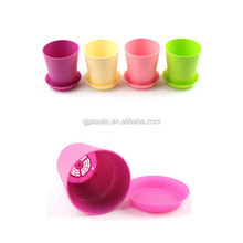 Round Plastic Plant Pot / Planter/Flower Pot with Pallet Tray