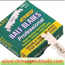 China barber use half razor blade wholesales