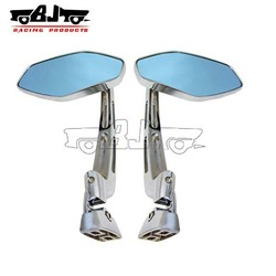 BJ-RM-037 motorcycle chrome mirrors for custom chopper bobber