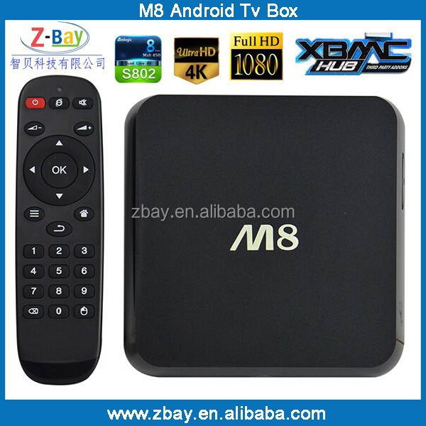 M8 android tv box amlogic s802 firmware