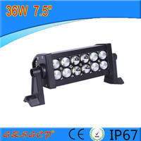 combo beam 7.5'' 36w A style led lgiht bar 93001, led light bar with reasonable price