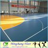 Professional cheap pvc floor Waterproof anti-slip pvc sports flooring for basketball court