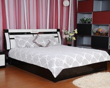 Fashion style plain color embroidery cotton quilt from China Zhejiang Hangzhou