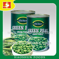 Canned Green Peas Dry and Good Peas raw materials
