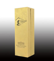 packing paper box for glass wine bottle