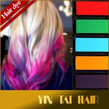 Hair Chalk Temporary Hair Dye Color Kit Pastel Coloring Salon, Temporary Non-Toxic Hair Pastel Chalk