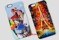 3D Sublimation case for iphone 6 New durable sublimated case Phone case sublimation printing