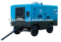 china cng compressor!!!KAISHAN LGCY-21/20 High-efficiencDiesel Driven Portable Screw Air Compessor with drill rig and rock dril