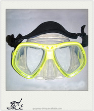 Professional water sport popular ocean uv protection over size diving mask M21