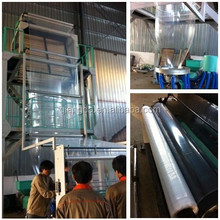 2015 New Type plastic film blowing machine technical learn from Taiwan
