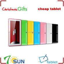 best selling products Christmas gift 7inch Q88 All Winner A13 Tablet PC tablet pc very cheap