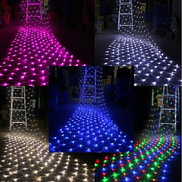 rgb led net light for christmas decoration buy flsh net light led