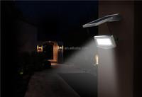 Bird House With Garden Fence Solar Lights wall light
