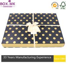 Hot Sale Black Square Decorative Chocolate Box