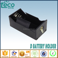 TBH-D-1A-L Ningbo TECO 1x D 1.5V Battery Holder Car Battery Holder with Solder Lugs