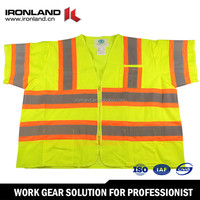 Wholesale durable nice high visibility safety vest