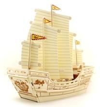 DIY wooden ship model
