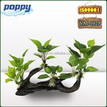 POPPY YM- 1925 Plastic Tree Underwater Plant Fish Tank Ornament
