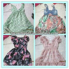 best price Used dress/T-shirt/silk blouse/kids clothes Exporter Malaysia