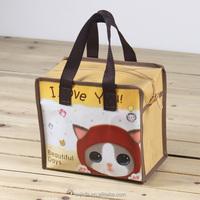 Folding Style and nonwoven Material lamination pp non woven shopping bag