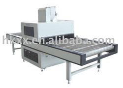 Rubber screen uv ink printing curing machine