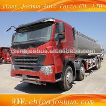 2014 sinotruk howo a7 6x4 aceite de camión cisterna de combustible para la venta