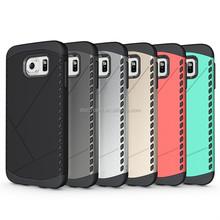 Hot seller defender hybrid Armor mobile phone case for Samsung galaxy S6