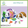 Hot pet's house set with function for kid play house game stuffed dog house toy