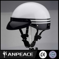 Shell ABS motorcycle helmet for polycarbonate visor