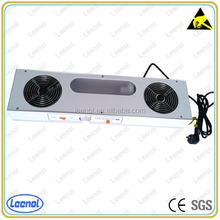 Over head ESD 2 fans ionizing air blowers