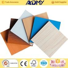 ADMY 2015 China wholesale new style laminate mdf, types of wood mdf, mdf frame