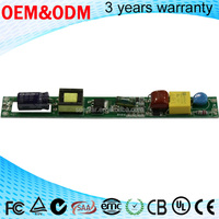 T8 led light driver 9w 18w non-isolation 120ma high efficiency constant current led driver
