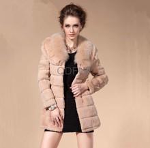 A29377 directsale fábrica real de piel de zorro& la piel del conejo ropa para mujer
