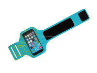 5.5 inch 0.8mm/29g TPU+lycra Adjustable sport armband case for samsung galaxy grand duos