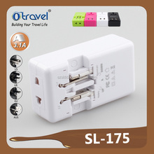 Hot selling singapore malaysia travel plug adapter with low price