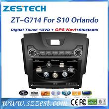 Zestech para Chevrolet <span class=keywords><strong>orlando</strong></span> S10 / Trailblazer LT / LTZ 2013 / for ISUZU 2012 coches reproductor de dvd con gps