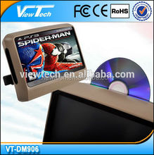 """hot sale 9"""" headrest dvd with touch screen with HDMI port , CE mark ."""
