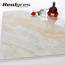 Lower price granite and marble polished glazed porcelain floor tile