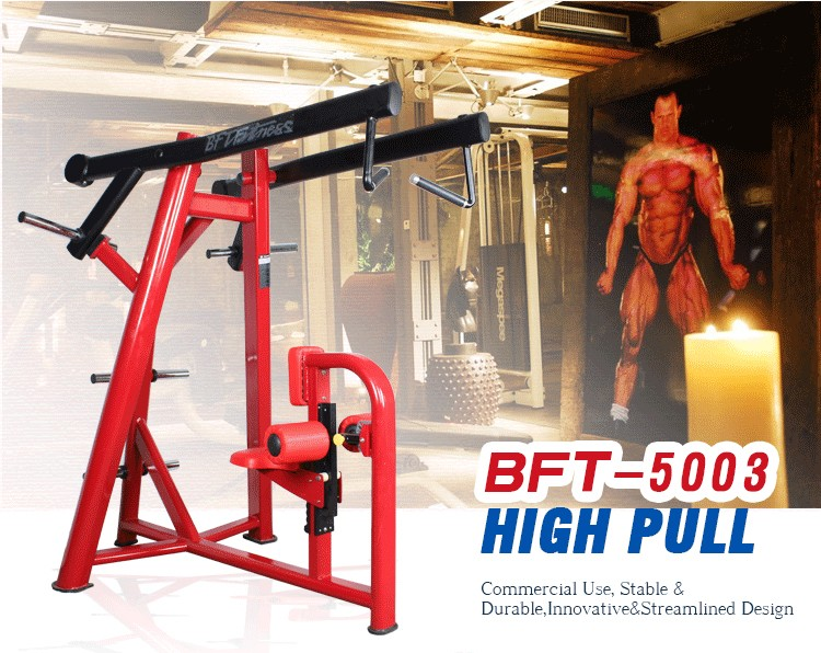 BFT-5003 luxurious High Pully Weight Plate Loaded Gym Equipment